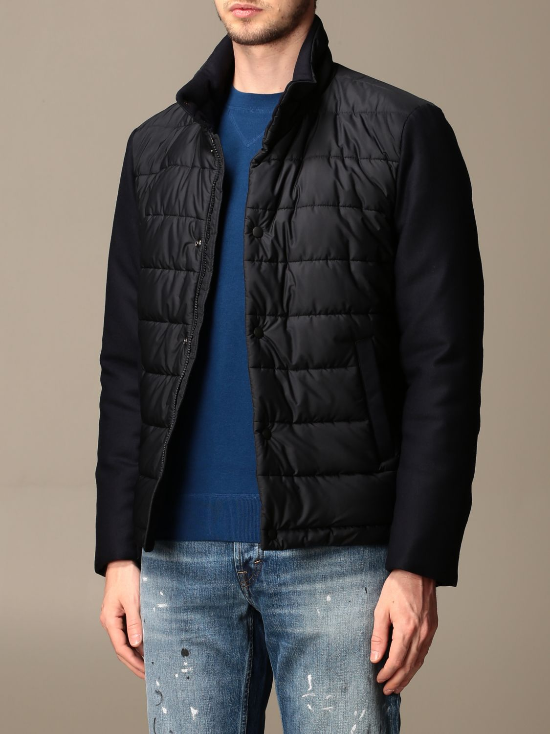 Jacket Brooksfield: Jacket men Brooksfield blue 3