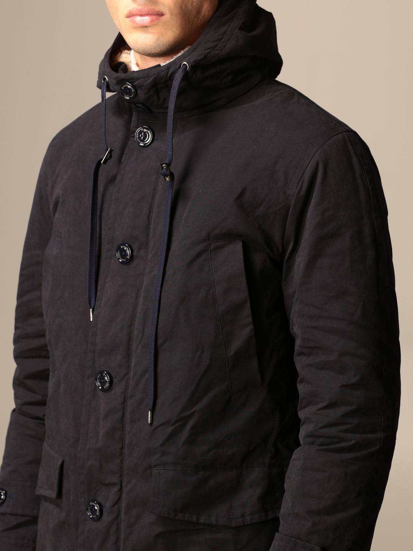 Jacket Brooksfield: Jacket men Brooksfield blue 4