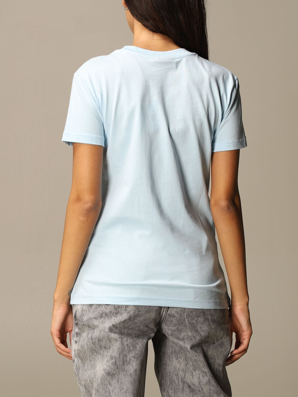T-Shirt Chiara Ferragni: T-shirt women Chiara Ferragni sky blue 3