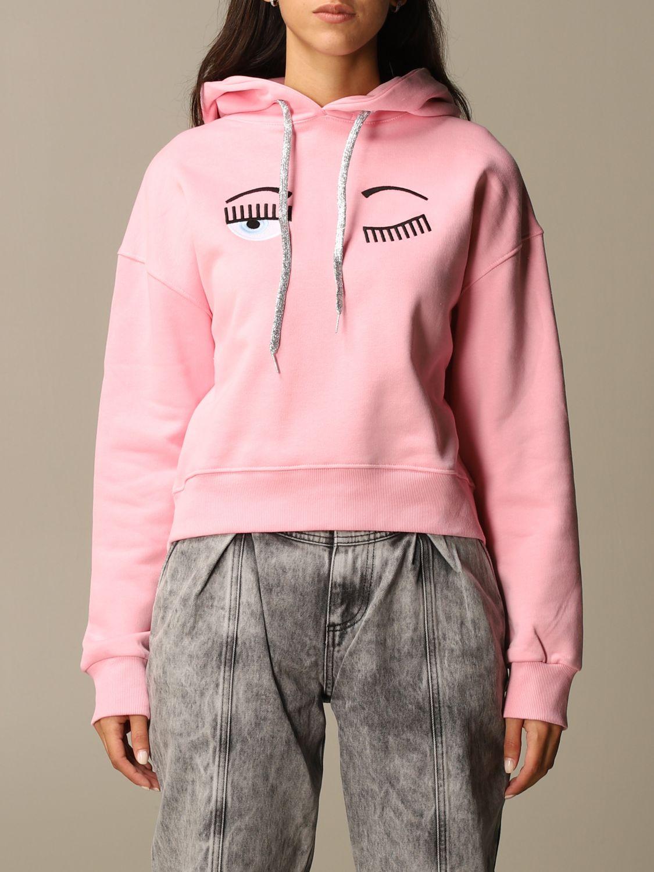 Sweatshirt Chiara Ferragni: Jumper women Chiara Ferragni pink 1