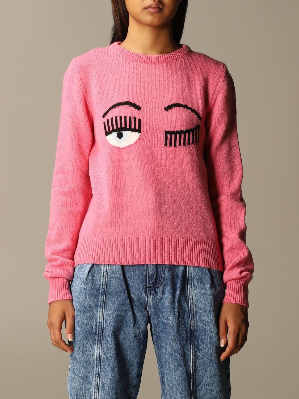 Jumper Chiara Ferragni: Jumper women Chiara Ferragni pink 1