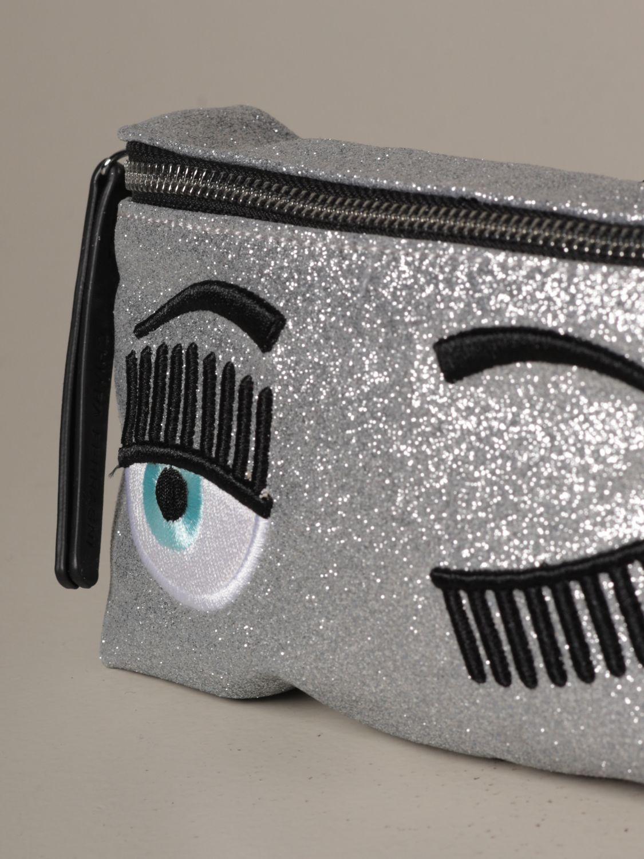 Belt bag Chiara Ferragni: Shoulder bag women Chiara Ferragni silver 3