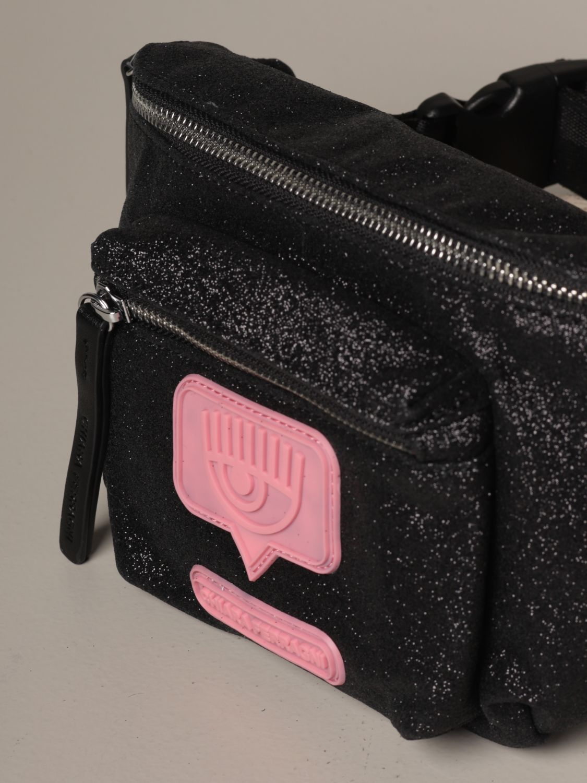 Belt bag Chiara Ferragni: Shoulder bag women Chiara Ferragni black 3