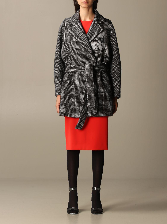 大衣 Boutique Moschino: 大衣 女士 Boutique Moschino 黑色 1
