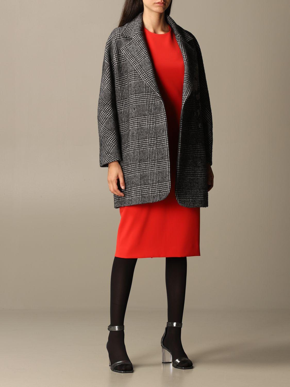 大衣 Boutique Moschino: 大衣 女士 Boutique Moschino 黑色 2