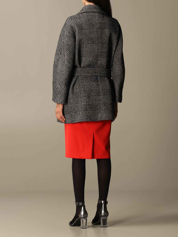 大衣 Boutique Moschino: 大衣 女士 Boutique Moschino 黑色 3