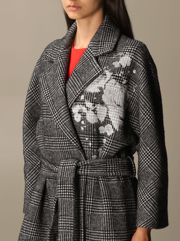 大衣 Boutique Moschino: 大衣 女士 Boutique Moschino 黑色 4