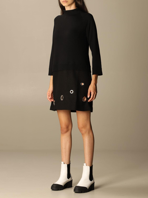 Dress Boutique Moschino: Dress women Boutique Moschino black 3