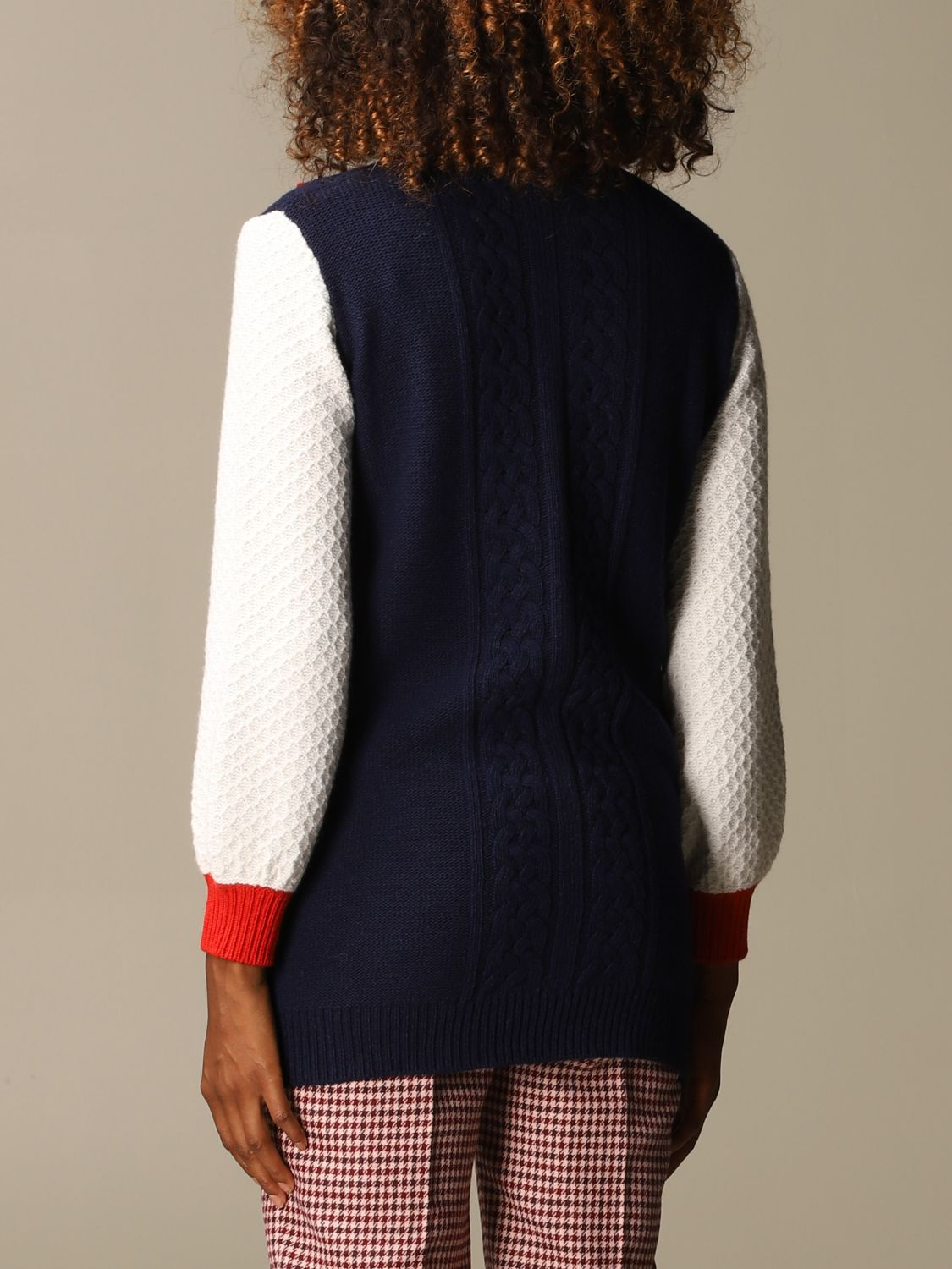 Jumper Be Blumarine: Jumper women Be Blumarine blue 2