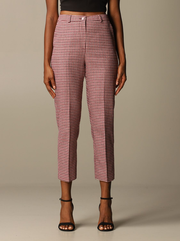 Trousers Be Blumarine: Trousers women Be Blumarine pink 1