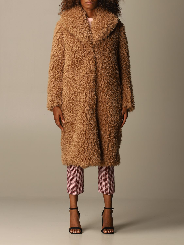 Coat Be Blumarine: Coat women Be Blumarine camel 1