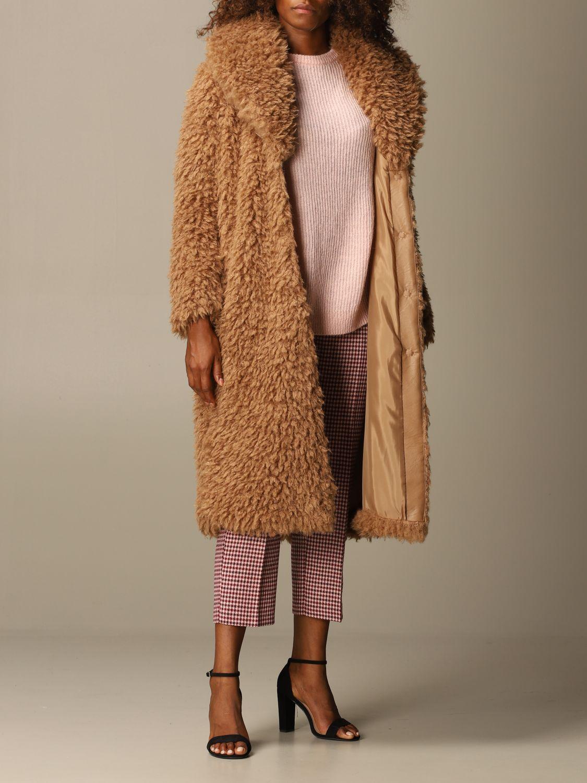 Coat Be Blumarine: Coat women Be Blumarine camel 2