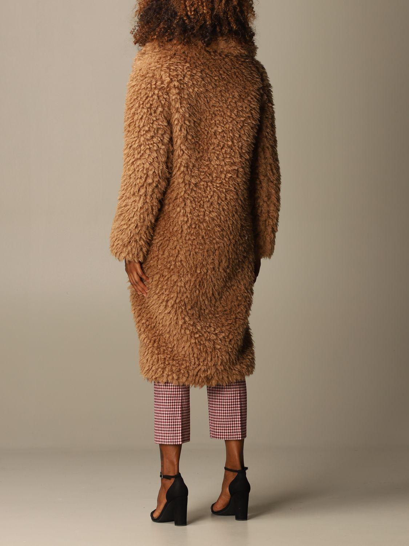 Coat Be Blumarine: Coat women Be Blumarine camel 3