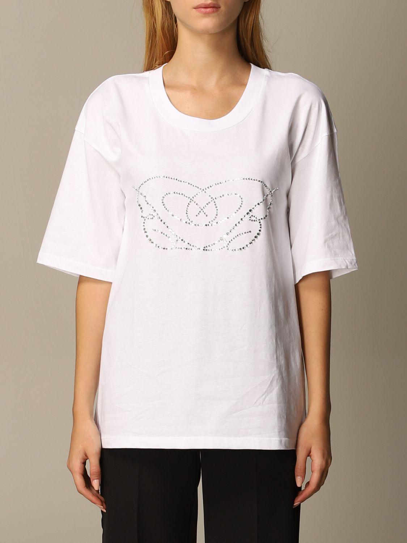 T-Shirt Blumarine: T-shirt women Blumarine white 1