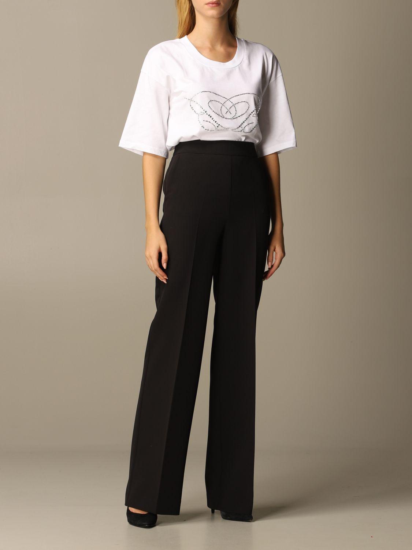 T-Shirt Blumarine: T-shirt women Blumarine white 2