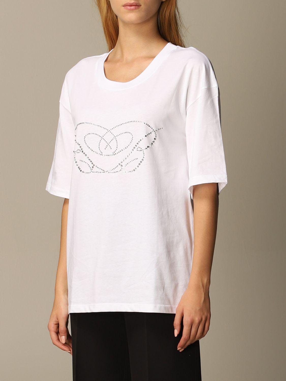 T-Shirt Blumarine: T-shirt women Blumarine white 4