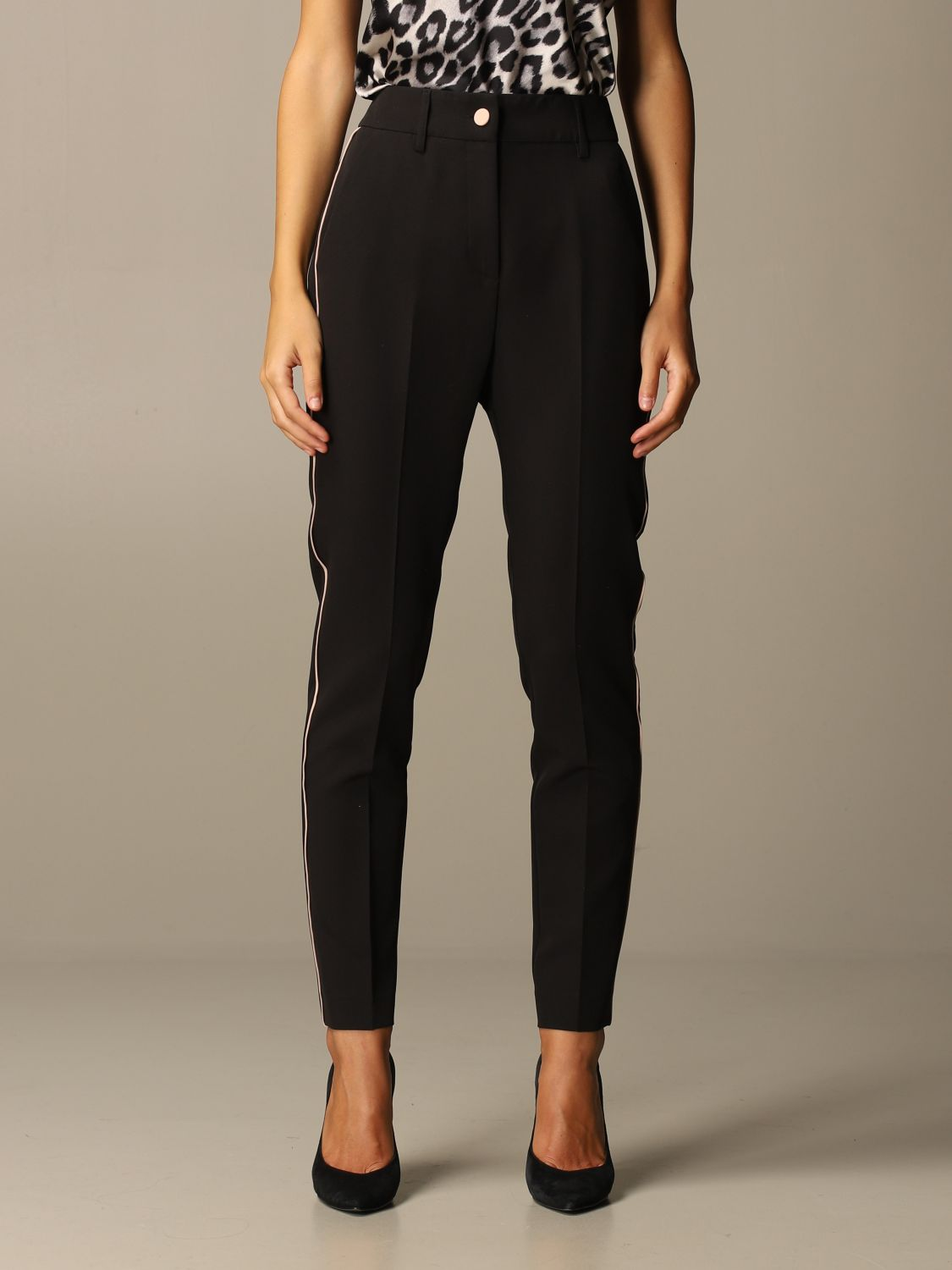 Trousers Blumarine: Trousers women Blumarine black 1 1