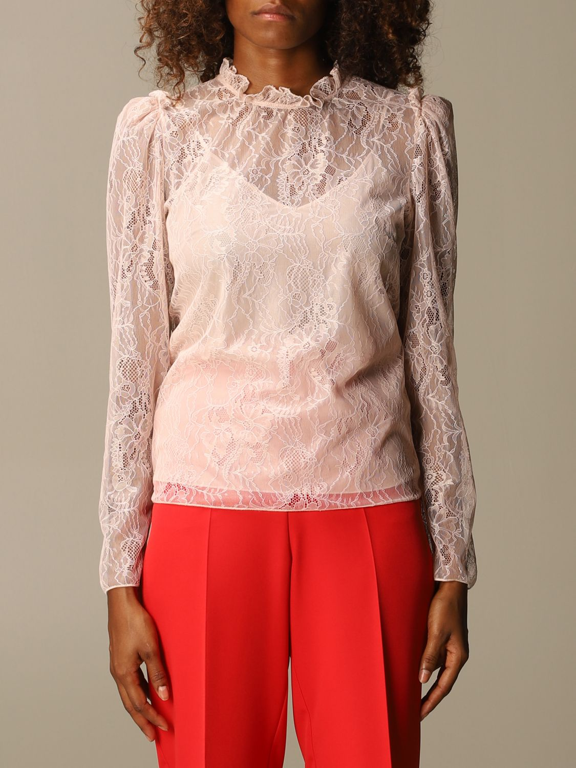 Shirt Blumarine: Top women Blumarine blush pink 1