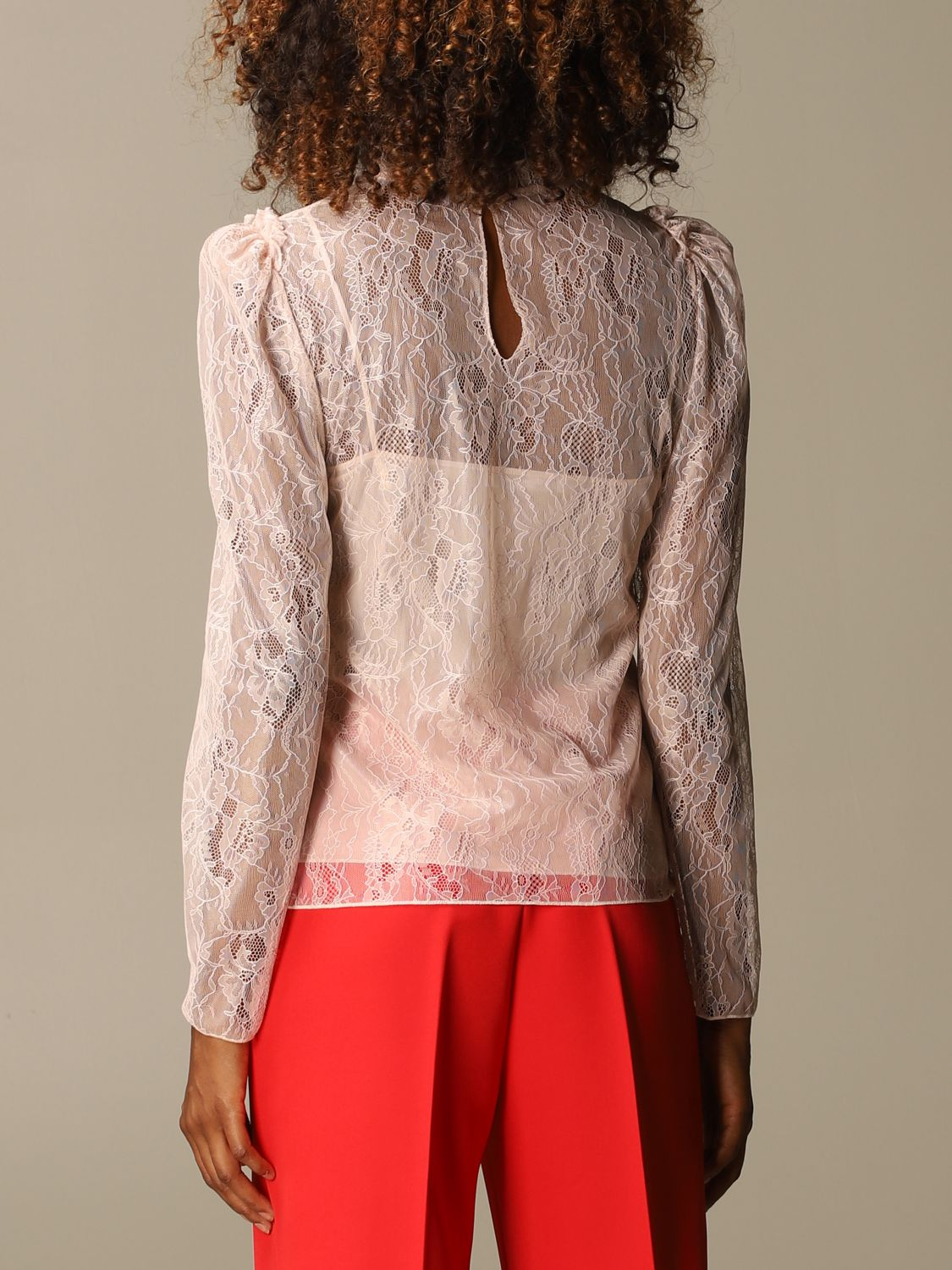 Shirt Blumarine: Top women Blumarine blush pink 3