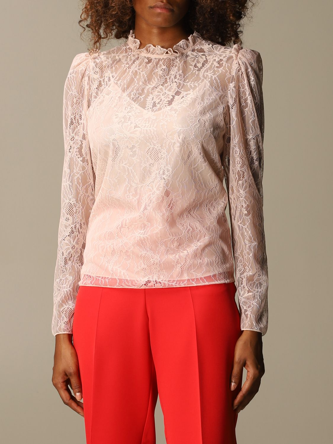 Shirt Blumarine: Top women Blumarine blush pink 4