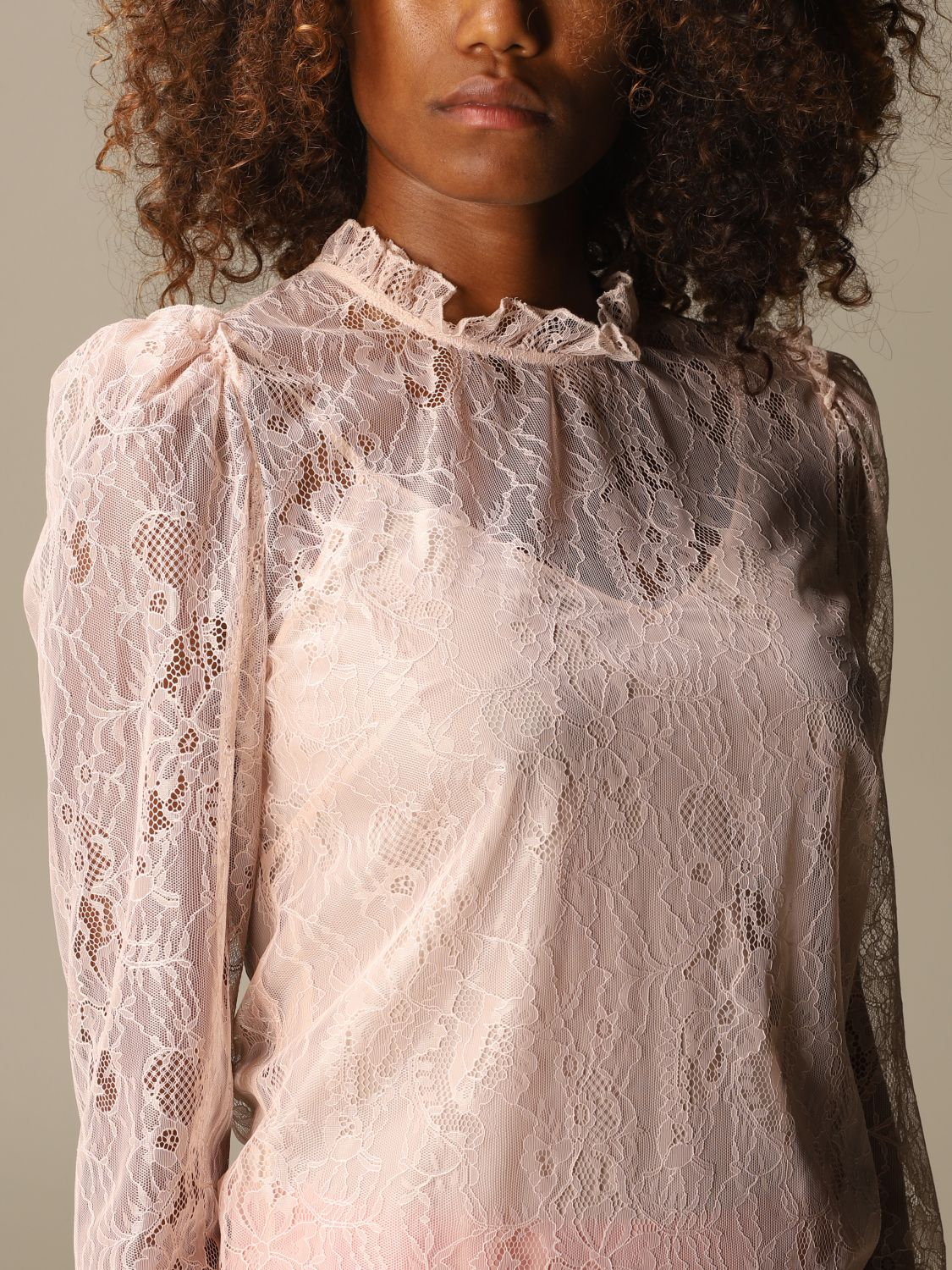 Shirt Blumarine: Top women Blumarine blush pink 5