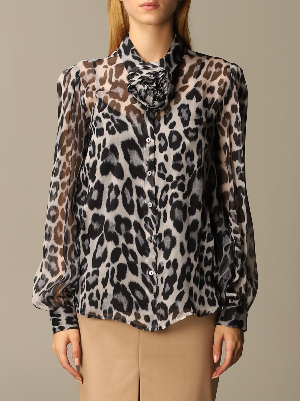 Shirt Blumarine: Top women Blumarine black 1
