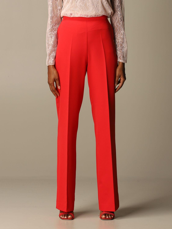 Trousers Blumarine: Trousers women Blumarine red 1