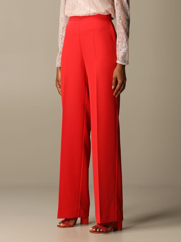 Trousers Blumarine: Trousers women Blumarine red 3