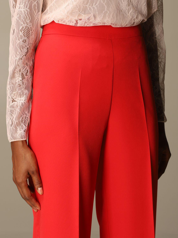 Trousers Blumarine: Trousers women Blumarine red 4