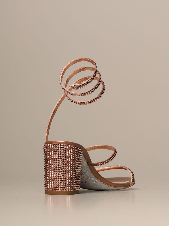 高跟凉鞋 Rene Caovilla: 鞋 女士 Rene Caovilla 粉色 3