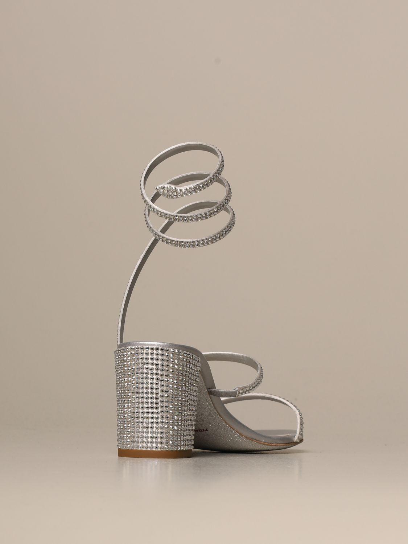 高跟凉鞋 Rene Caovilla: 鞋 女士 Rene Caovilla 银色 3