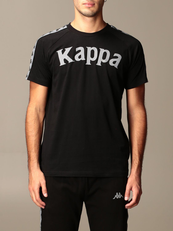 Cuadrante Municipios ANTES DE CRISTO.  Kappa cotton t-shirt with reflect logo | T-Shirt Kappa Men Black | T-Shirt  Kappa 3116P8W Giglio EN