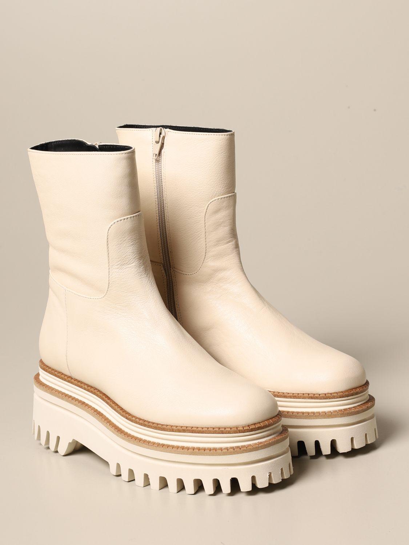 tread sole | Flat Booties Paloma