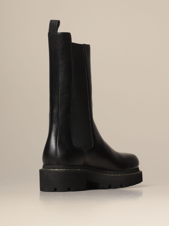 Flache Stiefeletten Pinko: Schuhe damen Pinko schwarz 3