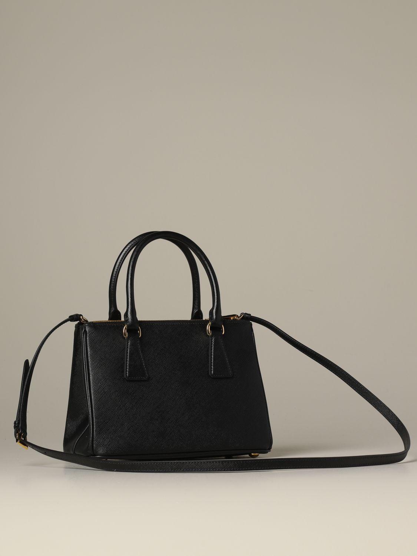 Sac porté main Prada: Sac porté épaule femme Prada noir 2