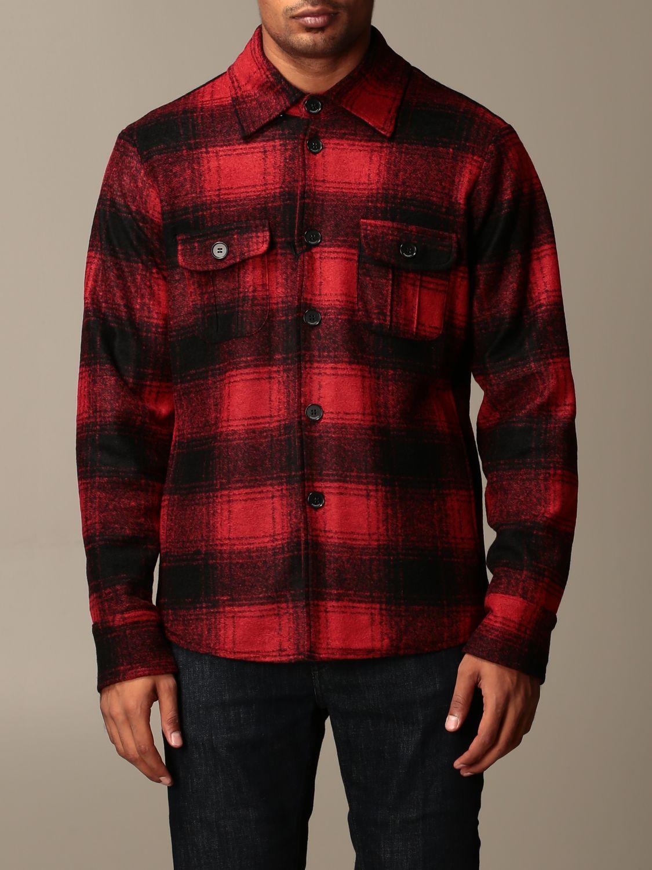 Shirt Hydrogen: Blazer men Hydrogen red 1