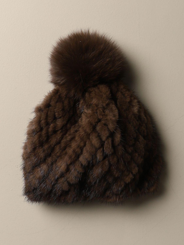 Hat Max Mara: Hat women Max Mara brown 2