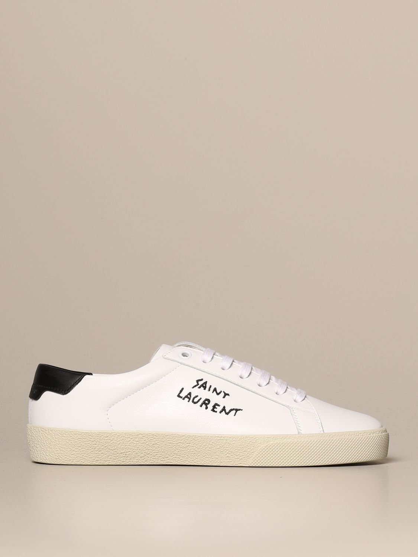 06 Saint Laurent leather sneakers