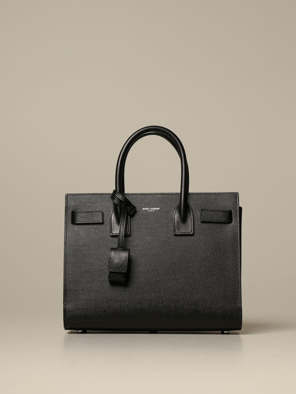 Handtasche Saint Laurent: Schultertasche damen Saint Laurent schwarz 1