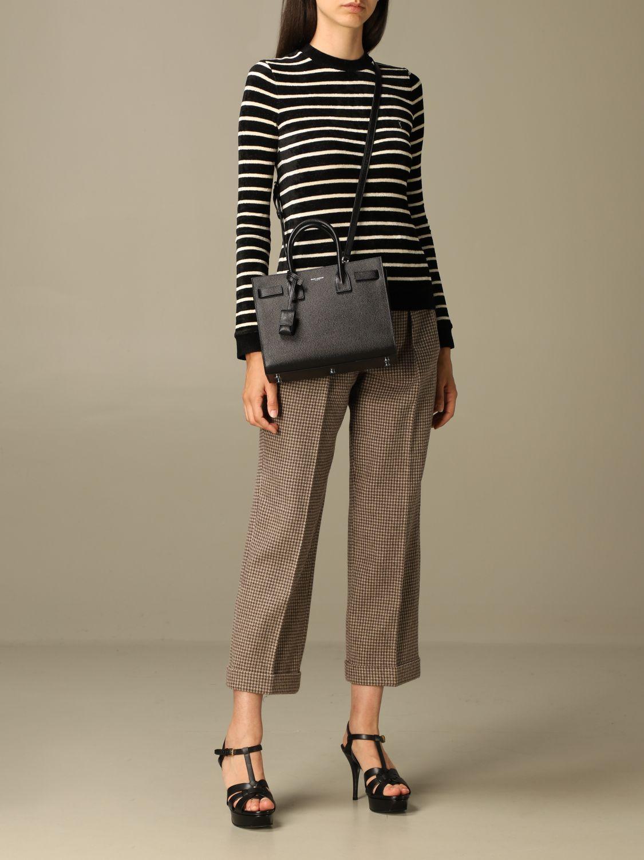 Handtasche Saint Laurent: Schultertasche damen Saint Laurent schwarz 2