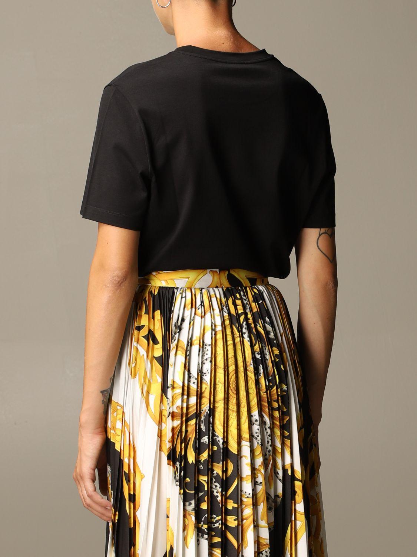 T-Shirt Versace: Versace T-shirt with 90s Vintage logo black 3