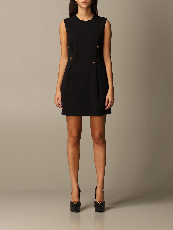 Платье Versace: Платье Женское Versace черный 1