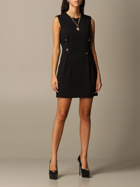 Платье Versace: Платье Женское Versace черный 2