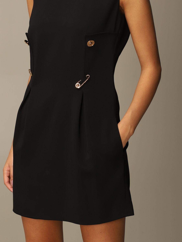 Платье Versace: Платье Женское Versace черный 4
