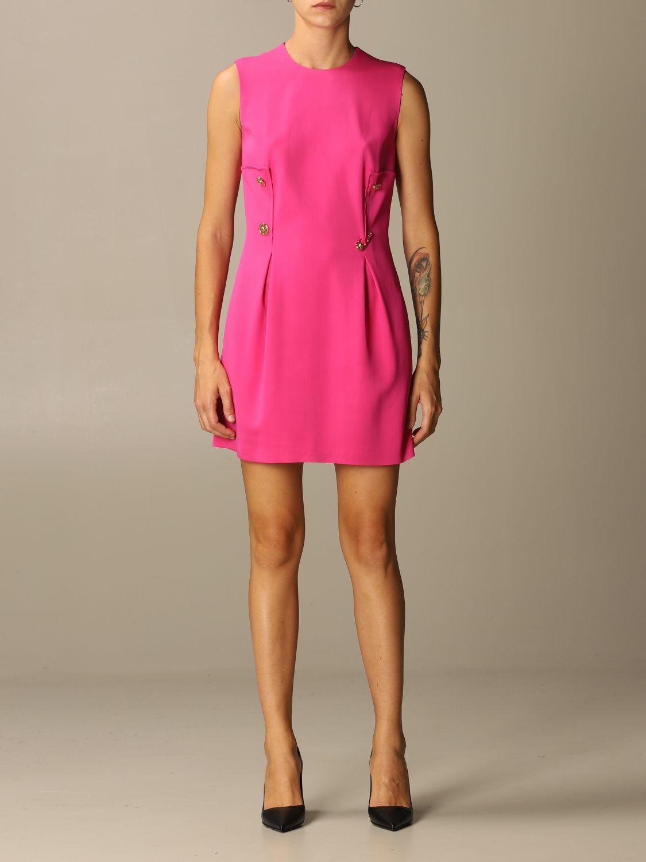 Платье Versace: Платье Женское Versace фуксия 1