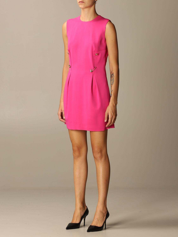 Платье Versace: Платье Женское Versace фуксия 3