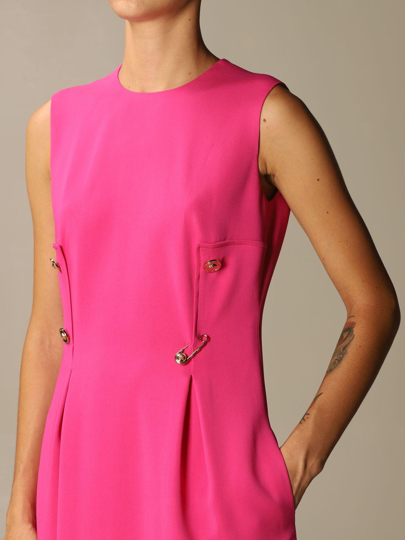 Платье Versace: Платье Женское Versace фуксия 4