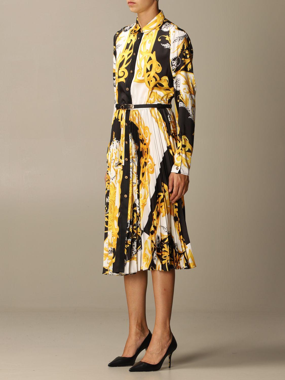 Kleid Versace: Kleid damen Versace gold 3