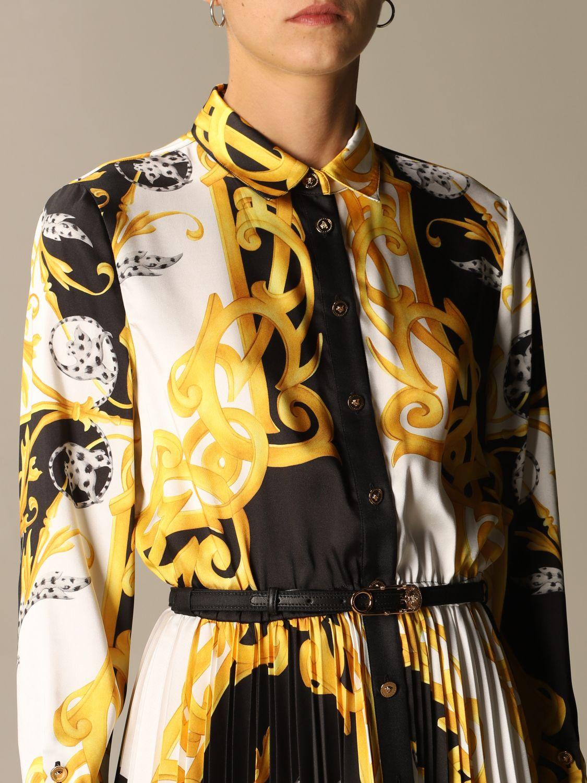 Kleid Versace: Kleid damen Versace gold 4