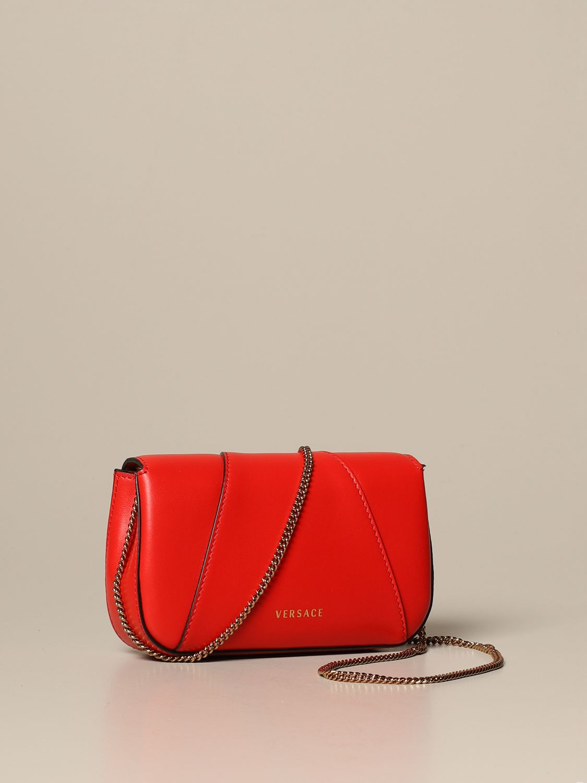 Mini bag Versace: Shoulder bag women Versace red 2